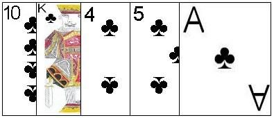 Five card flush