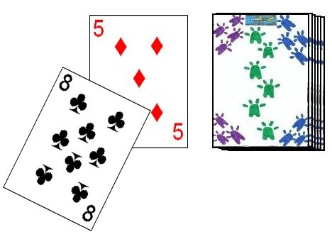 Playing an eight