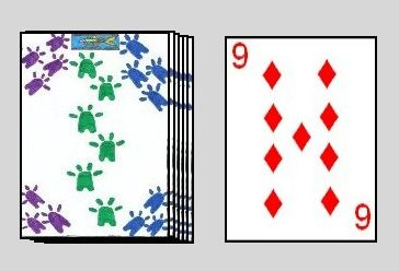 Crazy Eights initial layout