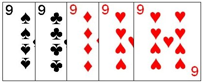 Five of a Kind is the highest five card combination
