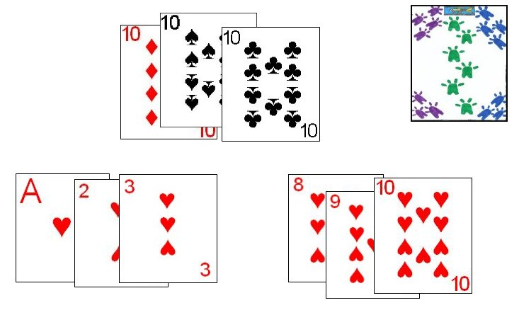 A Rummy hand in Phom
