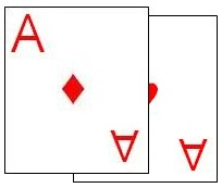 Two card combination (pair)